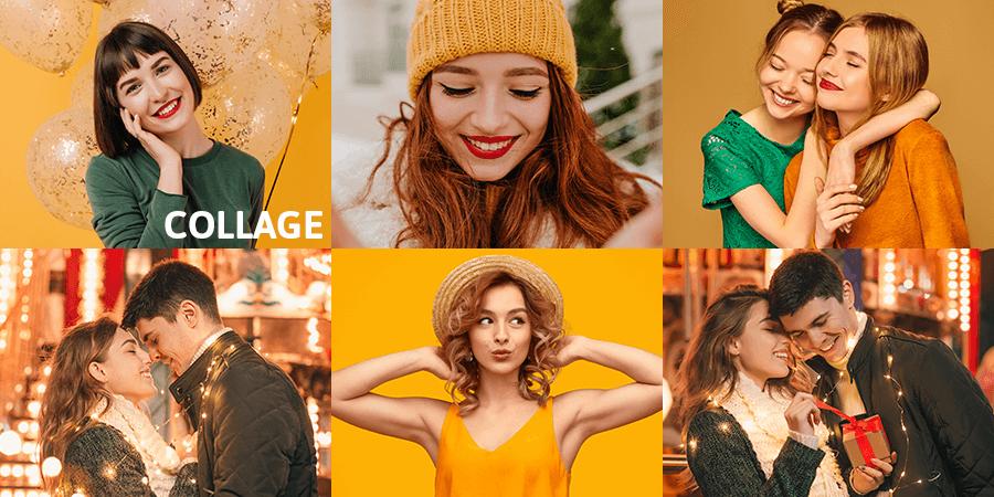 How To Make Collage Photo Using Photo Studio Photo Editor
